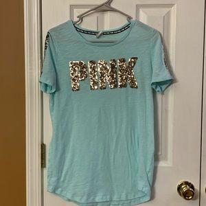 Victoria's Secret PINK Sequin top size large